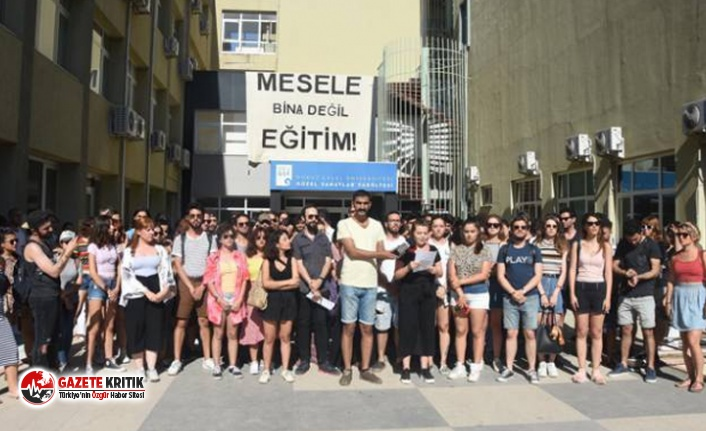 Taşınması gündemde olan DEÜ Güzel Sanatlar Fakültesi...