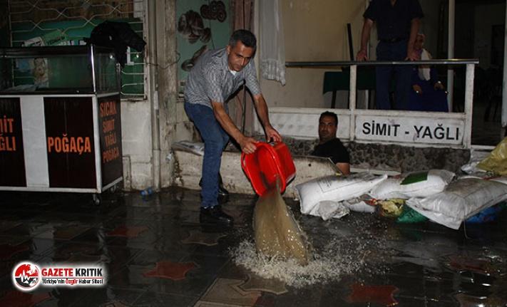 Tokat'ta sağanak hayatı olumsuz etkiledi