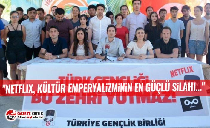 Türkiye Gençlik Birliği'nden Netflix, BluTV...