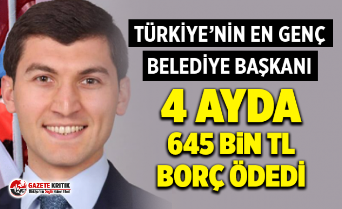 Türkiye'nin en genç belediye başkanı 4 ayda...