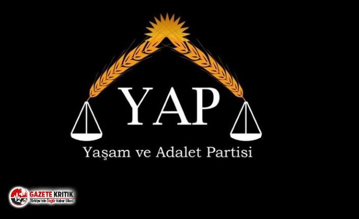 Yeni parti kuruldu; Yaşam ve Adalet Partisi için...