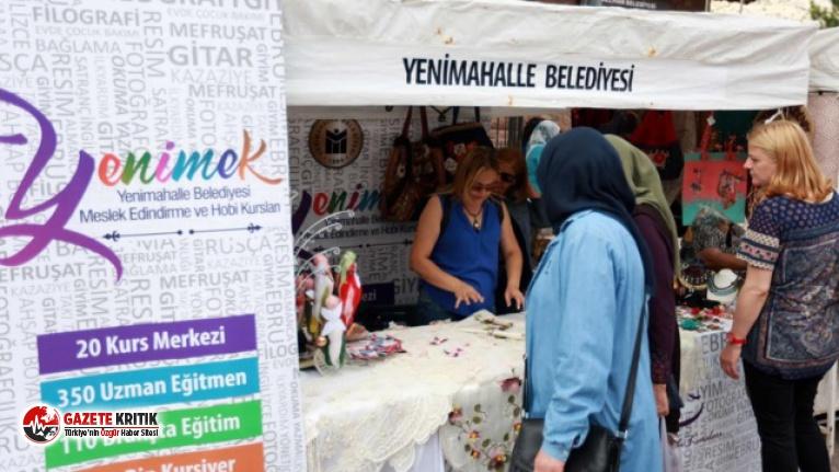 YENİMEK ürünleri Nallıhan Festivali'nde