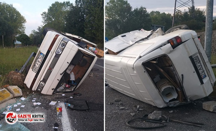 2 kişinin yaralandığı kazada kaçan sürücüye...