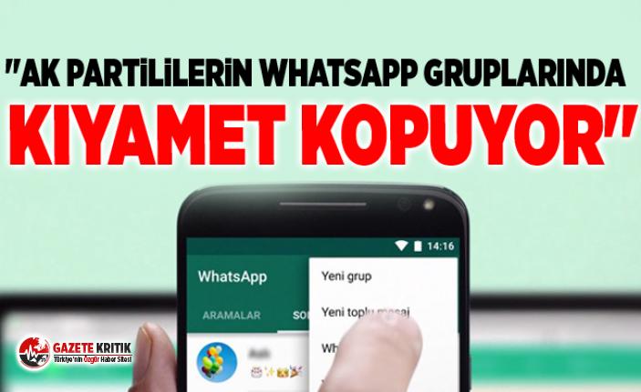 ''AK Partililerin WhatsApp gruplarında...