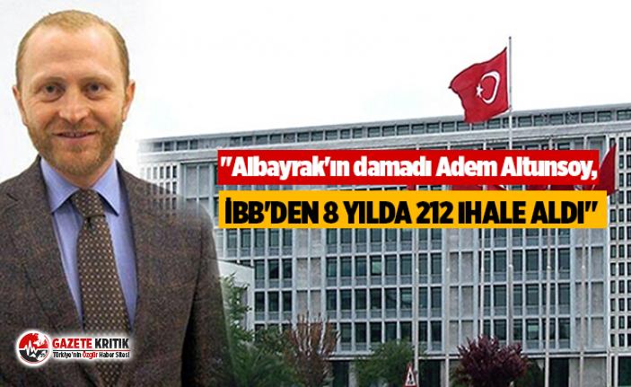 """""""Albayrak'ın damadı Adem Altunsoy, İBB'den..."""