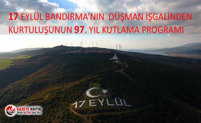 BANDIRMA 17 EYLÜL KURTULUŞ GÜNÜNE HAZIR.