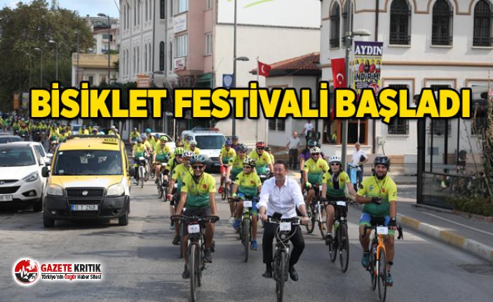 BİSİKLET FESTİVALİ BAŞLADI