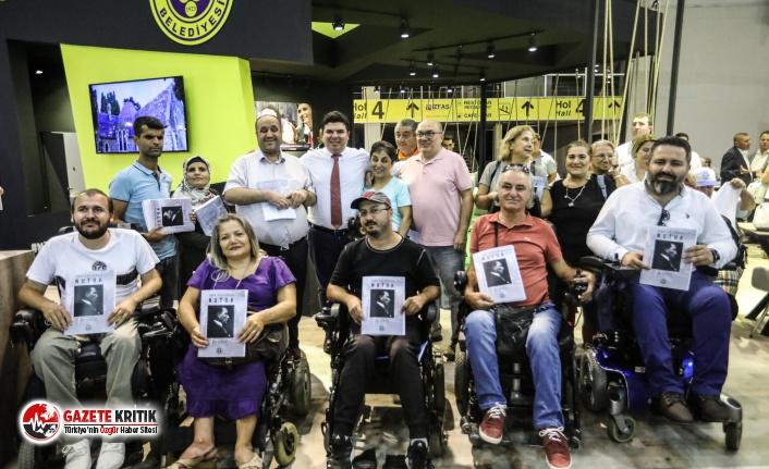 Buca Belediyesi'nden örnek proje: Görme engellilere...