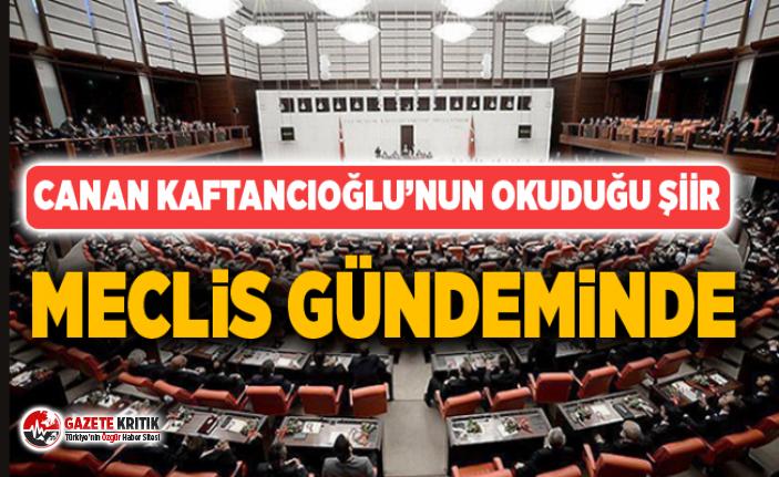 CANAN KAFTANCIOĞLU'NUN OKUDUĞU ŞİİR MECLİS...