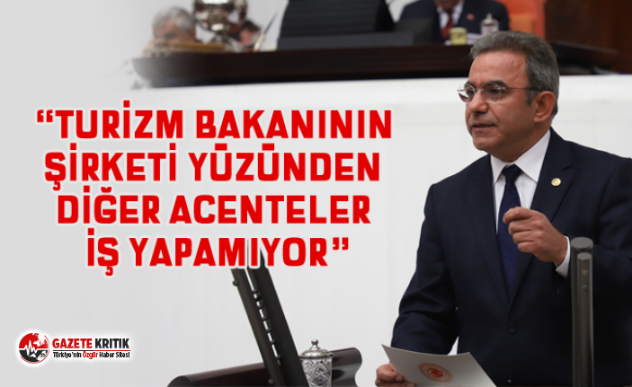 """CHP ANTALYA MİLLETVEKİLİ ÇETİN OSMAN BUDAK:""""TURİZM..."""