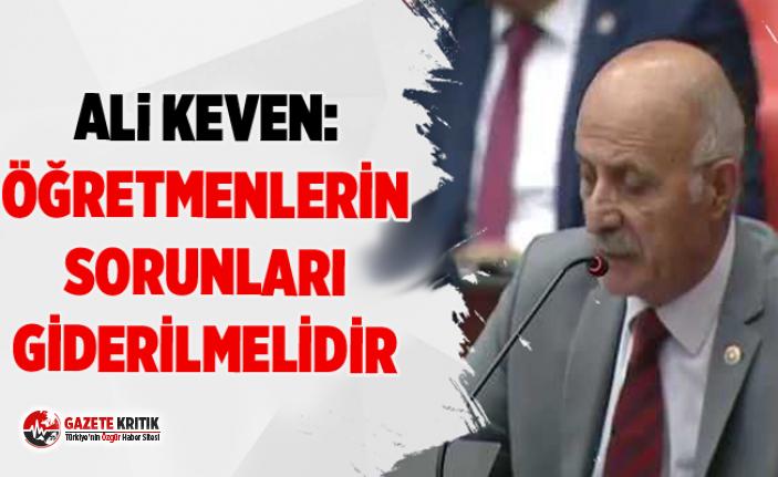 CHP'Lİ ALİ KEVEN:YENİ EĞİTİM DÖNEMİ HAYIRLI...