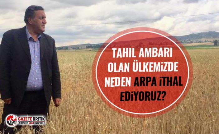 """CHP'li Gürer: """"TMO artık yabancı çiftçinin..."""