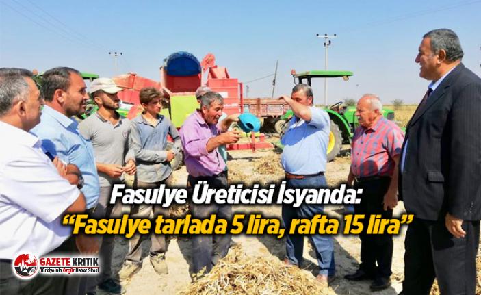 """CHP'li Gürer:""""Fasulye tarlada 5 lira, rafta..."""