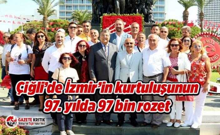 Çiğli'de İzmir'in kurtuluşunun 97. yılda...