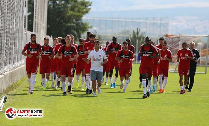 Demir Grup Sivasspor'da Başakşehir hazırlıkları...