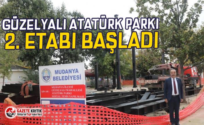 GÜZELYALI ATATÜRK PARKI 2. ETABI BAŞLADI