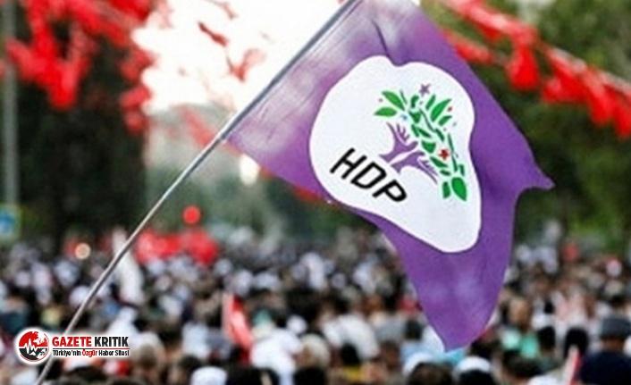 HDP'nin Diyarbakır il ve ilçe yöneticileri...