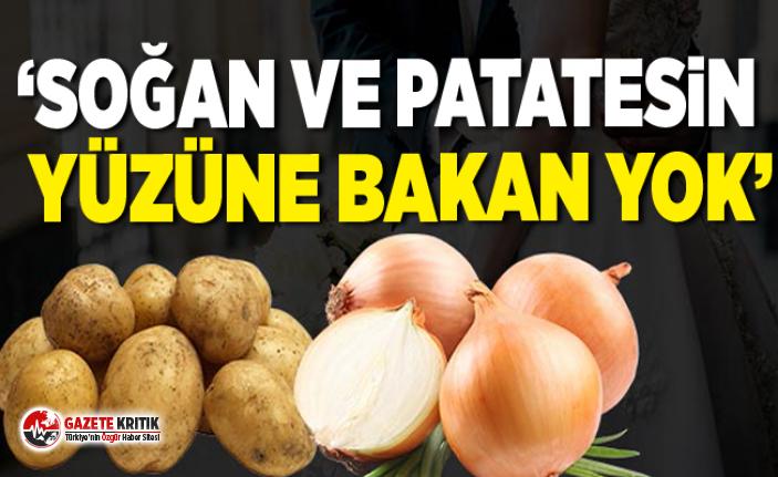 İlhami Özcan Aygun:Soğan ve patatesin yüzüne bakan yok