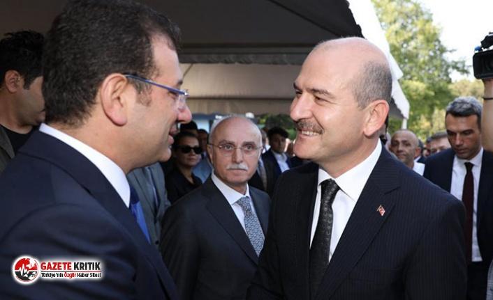 """İmamoğlu ve Soylu, """"Pejmürde ederiz"""" sözünden sonra ilk kez Adnan Menderes anmasında karşılaştı"""