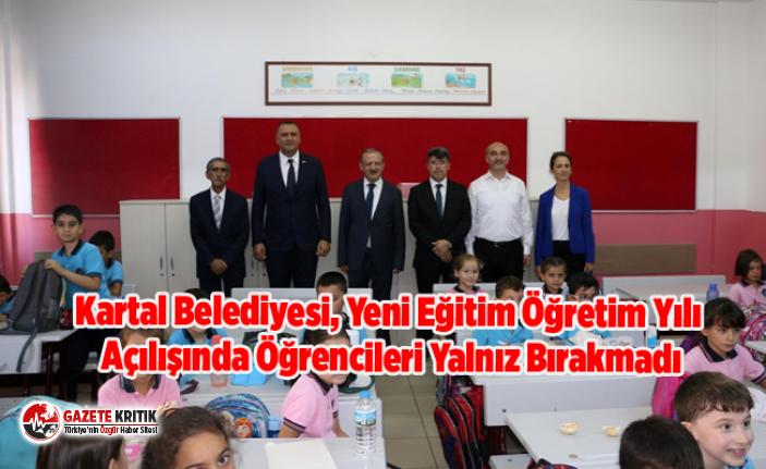 Kartal Belediyesi, Yeni Eğitim Öğretim Yılı Açılışında...