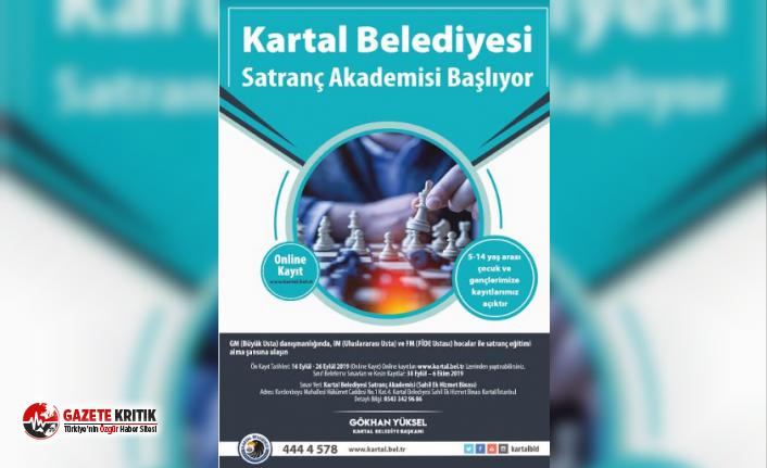 Kartal'ın İlk Satranç Akademisi Açılıyor