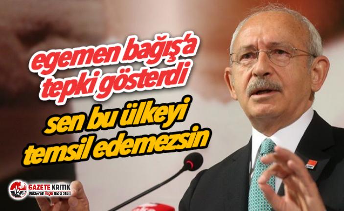 Kılıçdaroğlu'ndan Egemen Bağış tepkisi:...