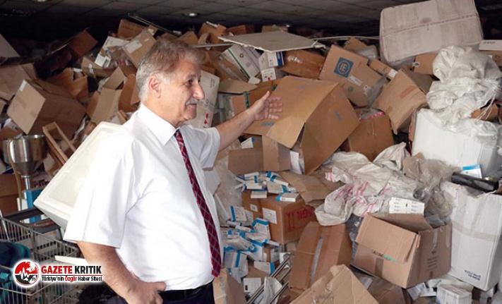 KKTC'de 90 kamyon ilaç depoda unutuldu, zarar 200...