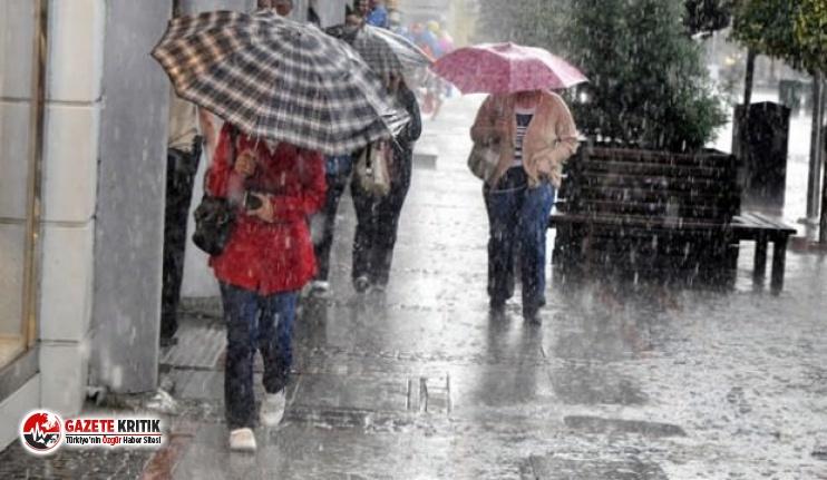 Meteoroloji'den bir uyarı daha: Sağanak yağış...