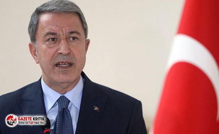 Milli Savunma Bakanı Hulusi Akar'dan 'güvenli bölge' açıklaması: Oyalama, geciktirme olursa bu çalışmalar biter