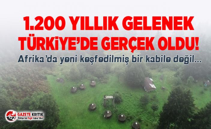 Oğuz Boyu geleneğini Trabzon'da sürdürmeye...