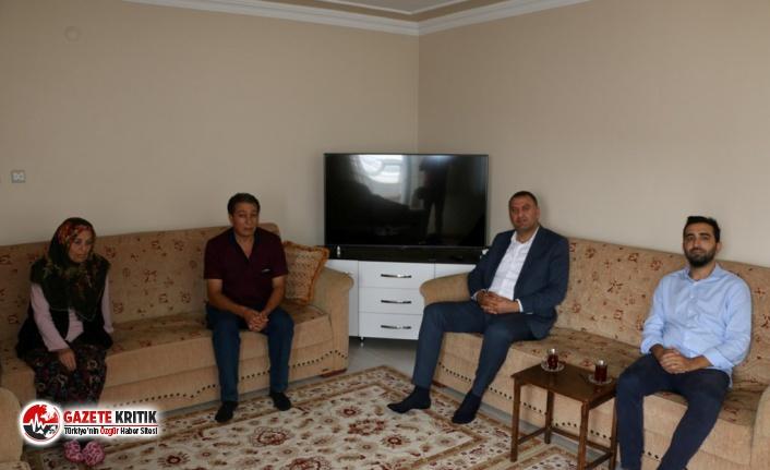 Şehit Ailesine Kartal Belediyesi'nden Ziyaret