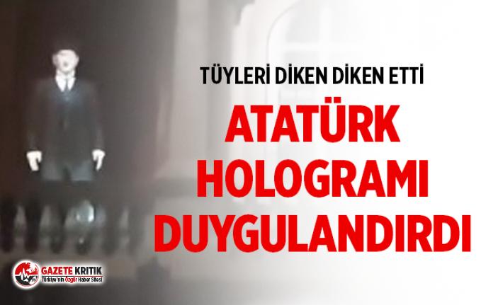 Sivas'tan tüyleri diken diken eden Atatürk...