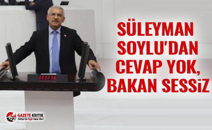 SÜLEYMAN SOYLU'DAN CEVAP YOK, BAKAN SESSİZ
