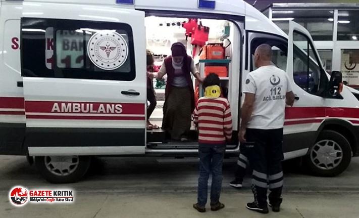 Tarım işçilerini taşıyan minibüs devrildi: 8'i çocuk, 10 yaralı