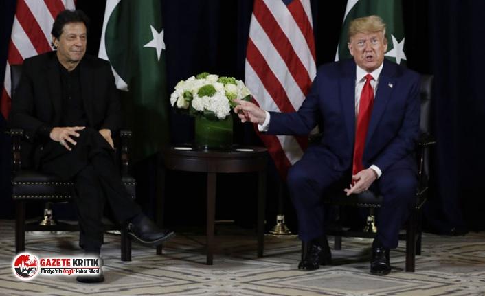 Trump, Keşmir konusunu soran Pakistanlı gazetecileri...