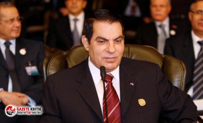Tunus'un devrik lideri Zeynel Abidin bin Ali...