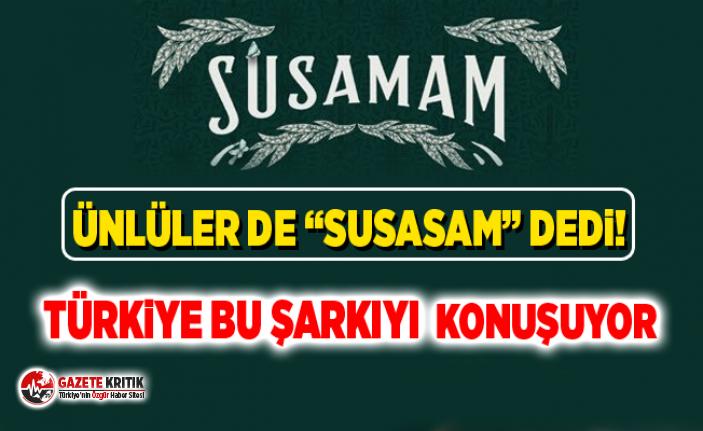Türkiye bu şarkıyı konuşuyor ! Ünlüler de ''Susamam''...