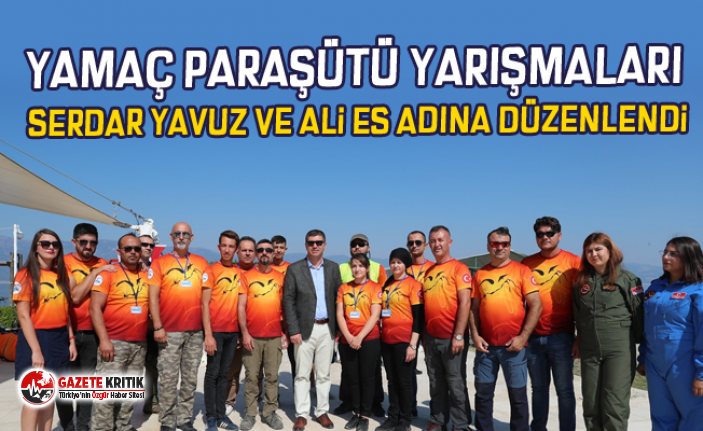 Yamaç Paraşütü Yarışmaları Serdar Yavuz ve...