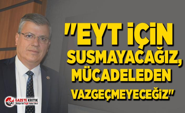 Ayhan Barut, Meclis'te 'Emeklilikle Yaşa...