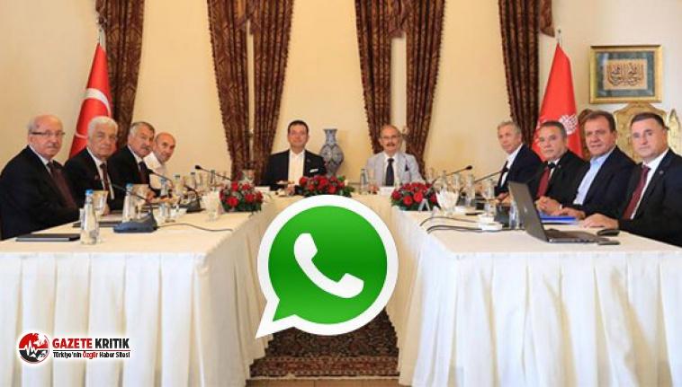 Belediye Başkanları İçin Whatsapp Grubu Kuruldu