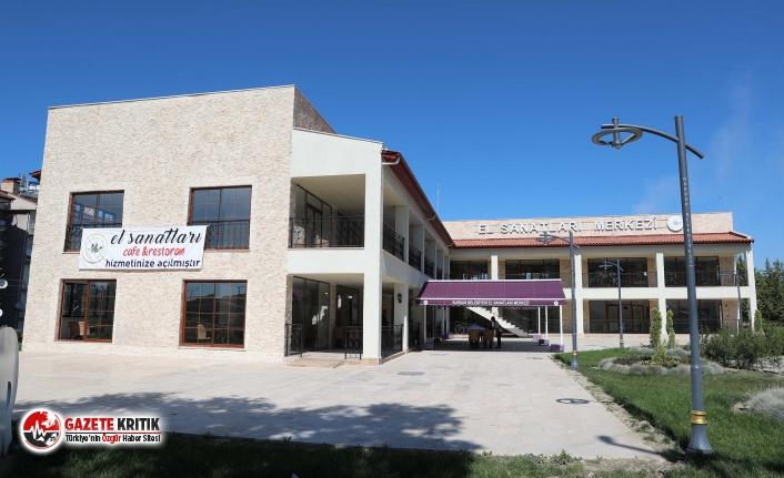 Burdur Belediyesi El Sanatları Merkezi Cafe ve Restoran...