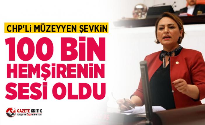 CHP'li Müzeyyen Şevkin, 100 bin hemşirenin...