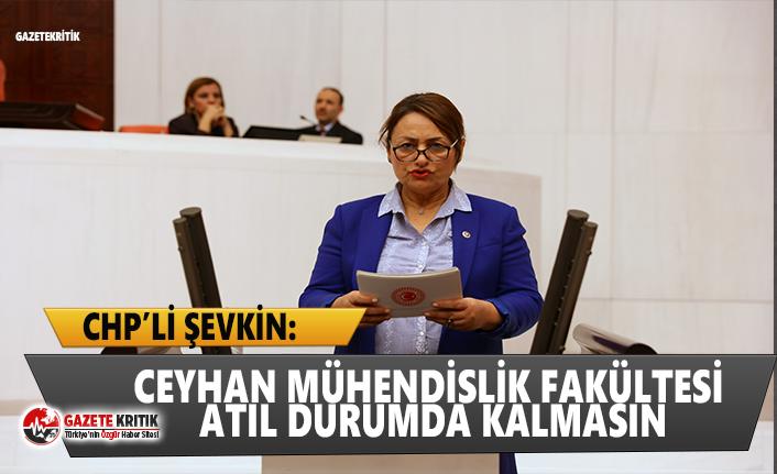 CHP'li Şevkin:Fakülte var, yurt var; yeterli bölüm ve öğrenci yok!
