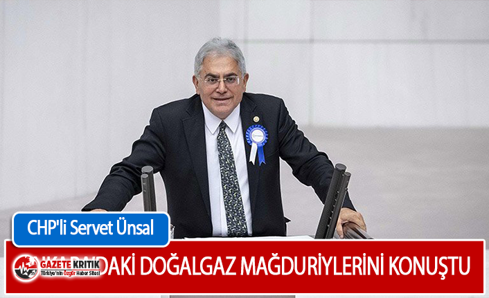 CHP'li Ünsal Ankara'daki Doğalgaz Mağduriyetini Meclise Taşıdı