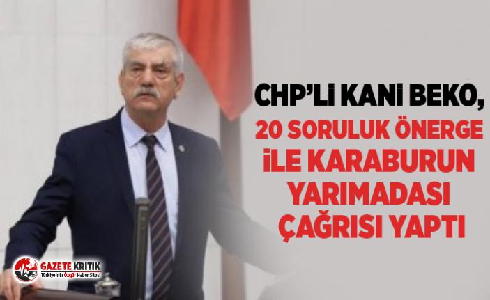 CHP'li Beko, 20 soruluk önerge ile Karaburun Yarımadası...