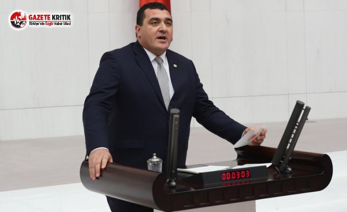 CHP'li Karasu borç batağındaki çiftçilerin sesi oldu
