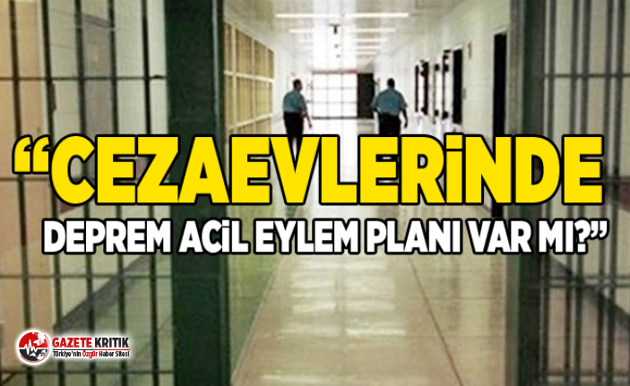 CHP'li Sertel Adalet Bakanına sordu:Cezaevlerinde...