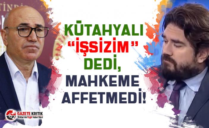 """CHP'Lİ VEKİL, """"İŞSİZİM"""" DİYEN ROK'TAN..."""