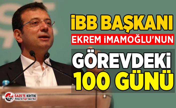 İBB Başkanı Ekrem İmamoğlu'nun görevdeki...