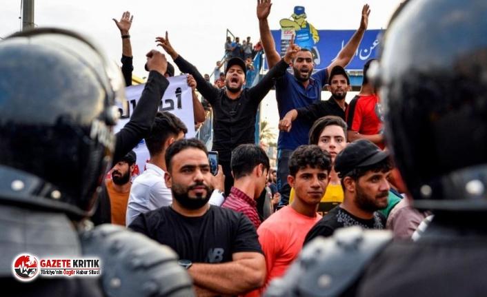 Irak'ta protestolarda ölenlerin sayısı 100'e...